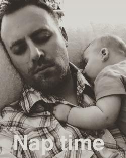 dad baby nap